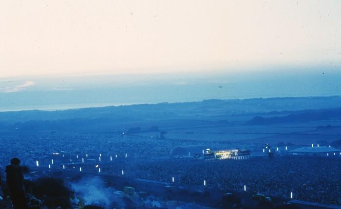Isle of Wight 1970 : dimanche 30 août aumatin