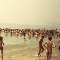 Isle of Wight 1970 : dimanche 30 août midi sur la plage