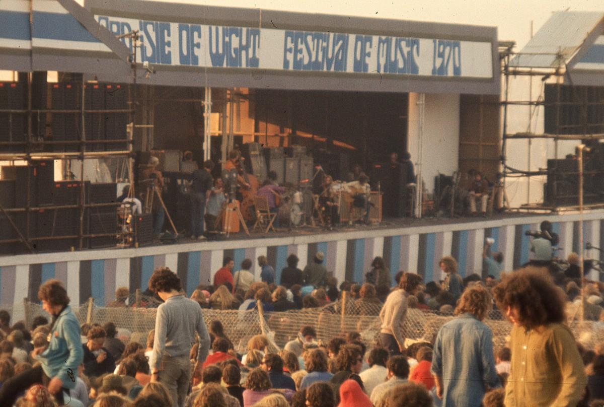 Isle of Wight 1970 : dimanche 30 août après-midi au festival