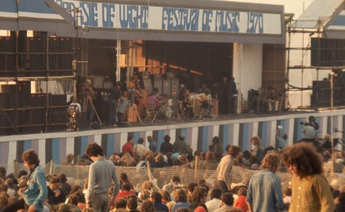 Isle of Wight 1970 : dimanche 30 août après-midi aufestival