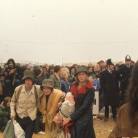 Isle of Wight 1970 : lundi 31 août matin du départ