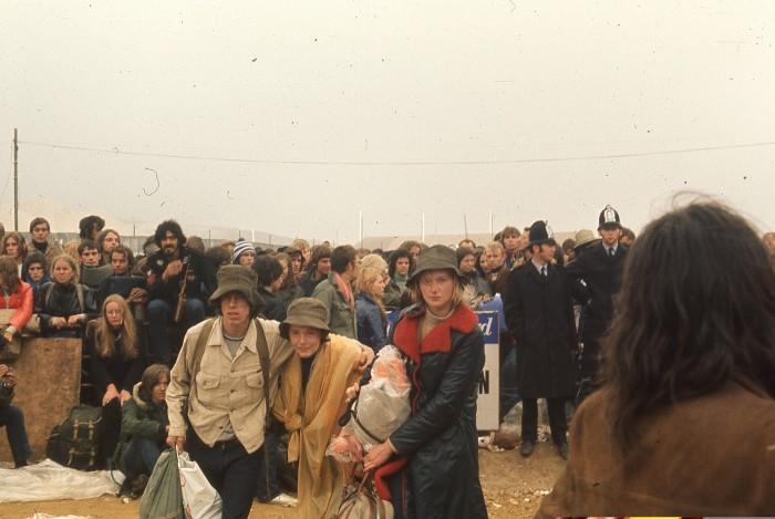 Isle of Wight 1970 : lundi 31 août matin dudépart