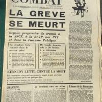 Combat Nº 7431 Jeudi 6 Juin 1968