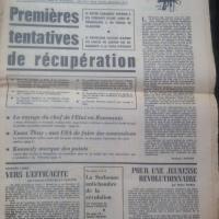 Combat Nº 7413 Jeudi 16 Mai 1968
