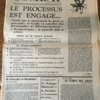 Combat Nº 7415 Lundi 20 Mai 1968
